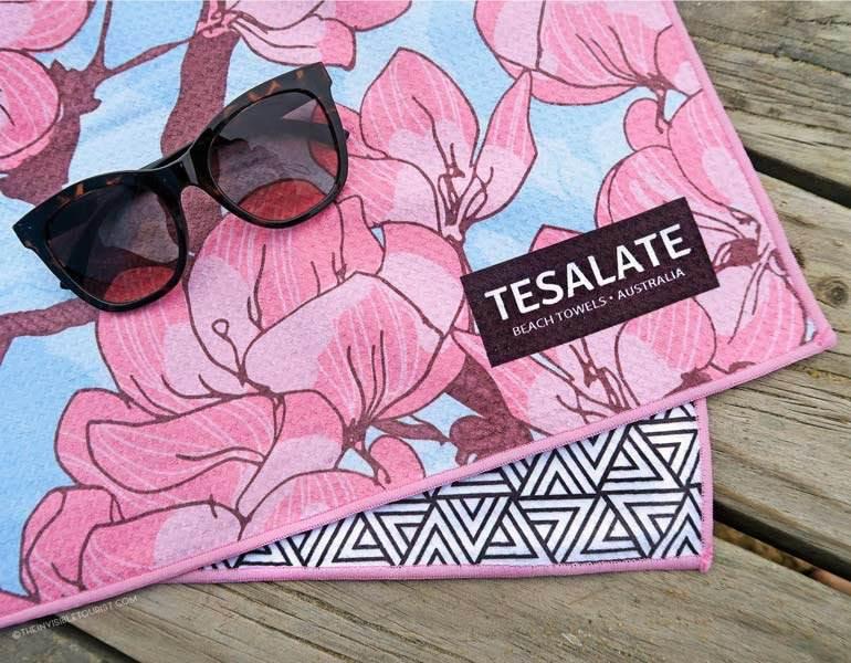 La licorne des serviettes de plage? Test de Tesalate sans sable et à séchage rapide