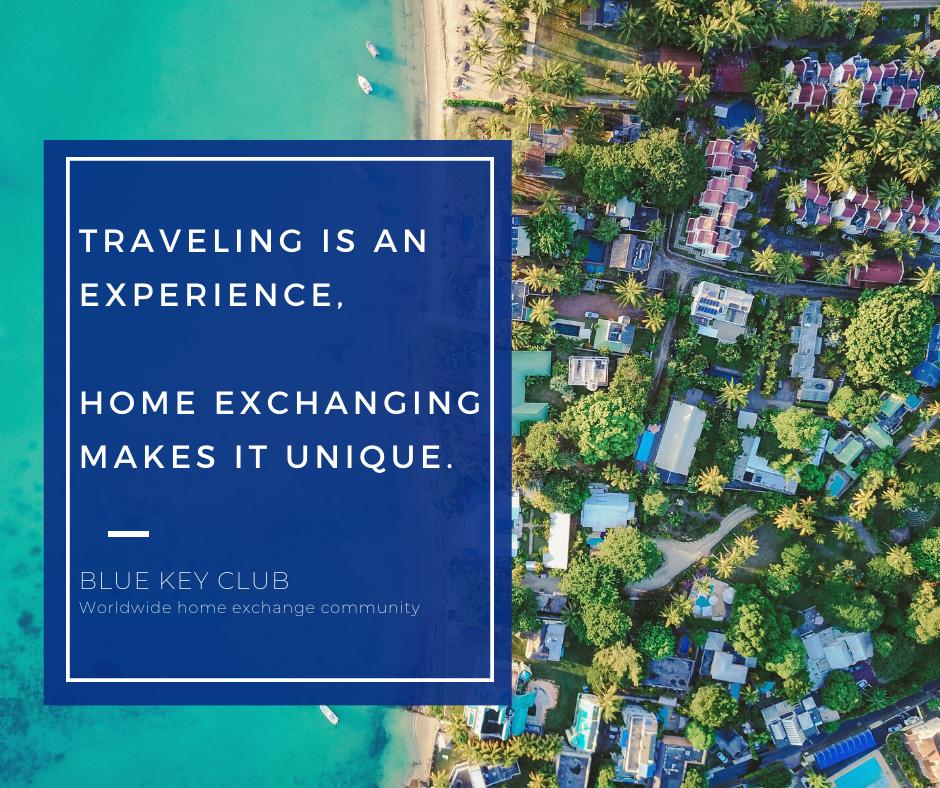 Lancement officiel du site d'échange de maisons Blue Key Club