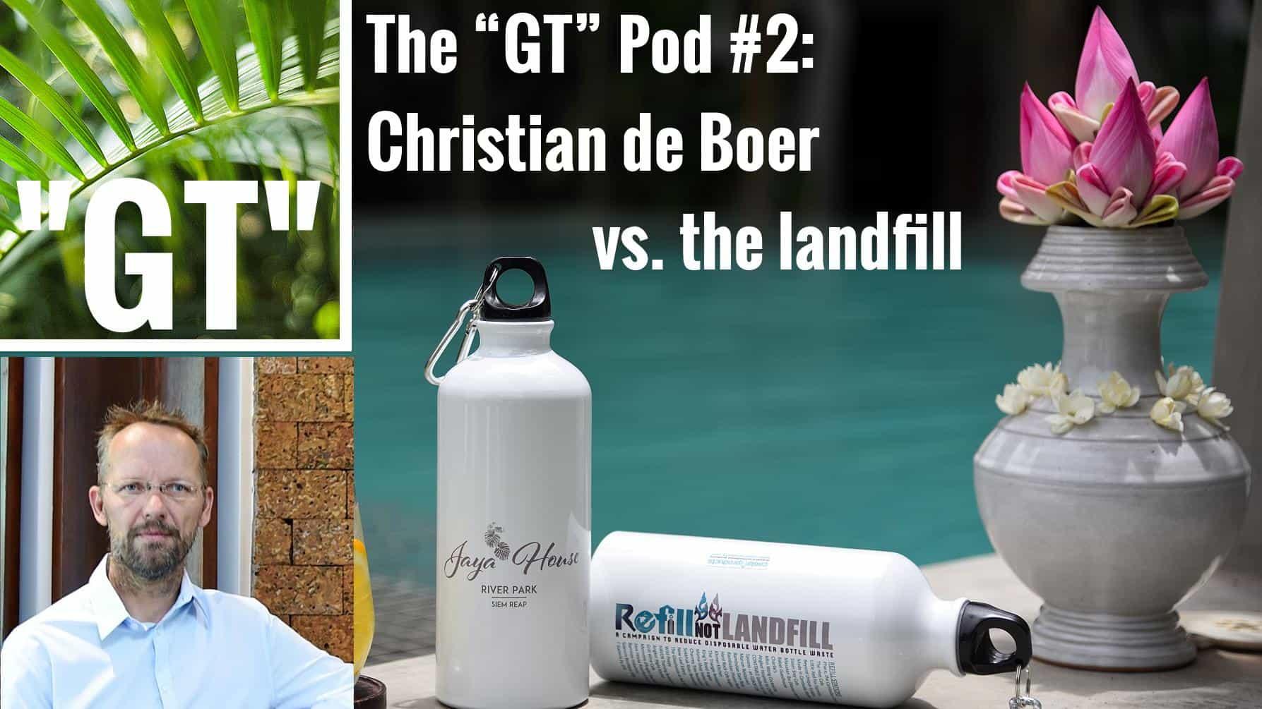Le podcast «Good Tourism» # 2: Comment être un hôtel sans plastique en 15 minutes