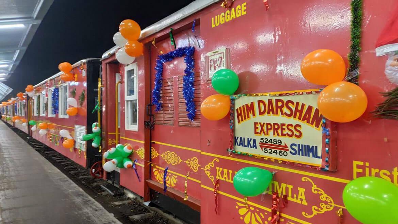 Him Darshan Express Train | Faits intéressants, prix des billets et informations de réservation en ligne