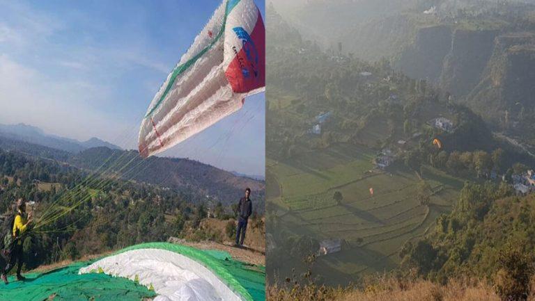 Les touristes peuvent désormais faire du parapente à Vaishno Devi