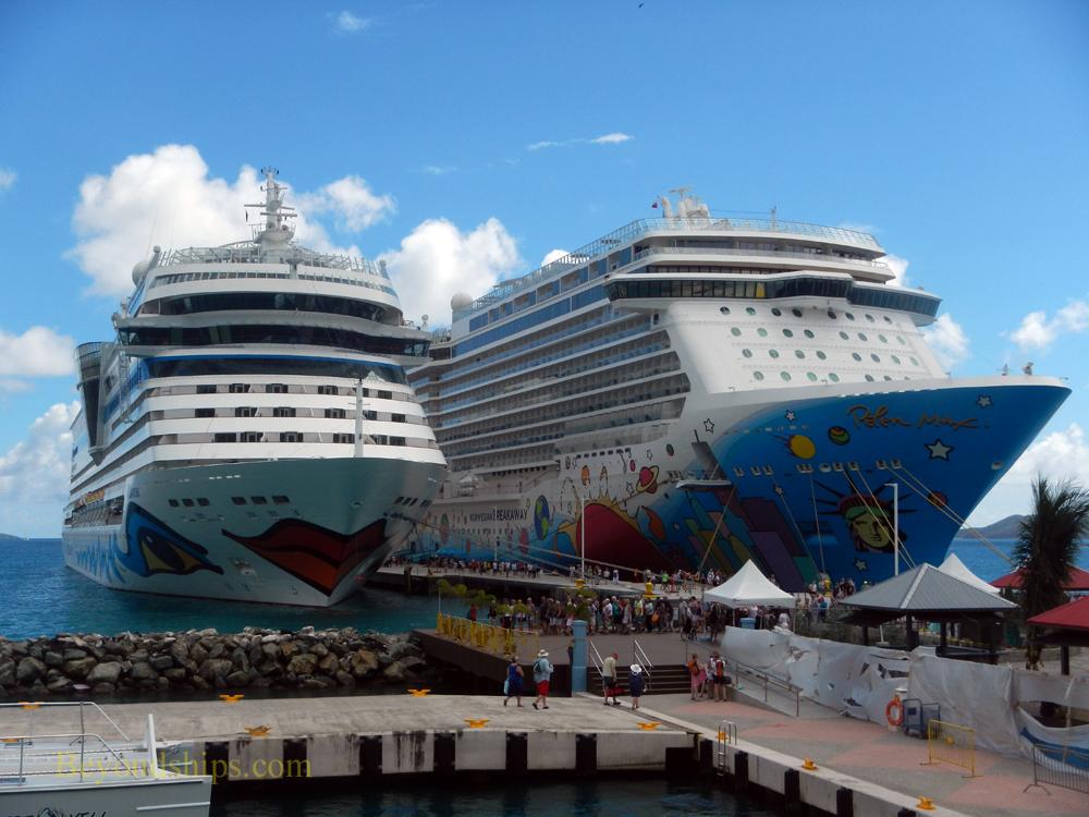 Les îles Vierges britanniques interdisent les navires de croisière et ferme le port de croisière de Tortola