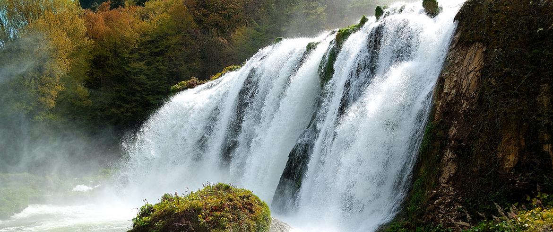 Les cascades les plus extraordinaires d'Italie