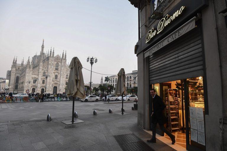 Vous voyagez à Milan, Venise ou Rimini? NON! L'Italie du Nord sous verrouillage