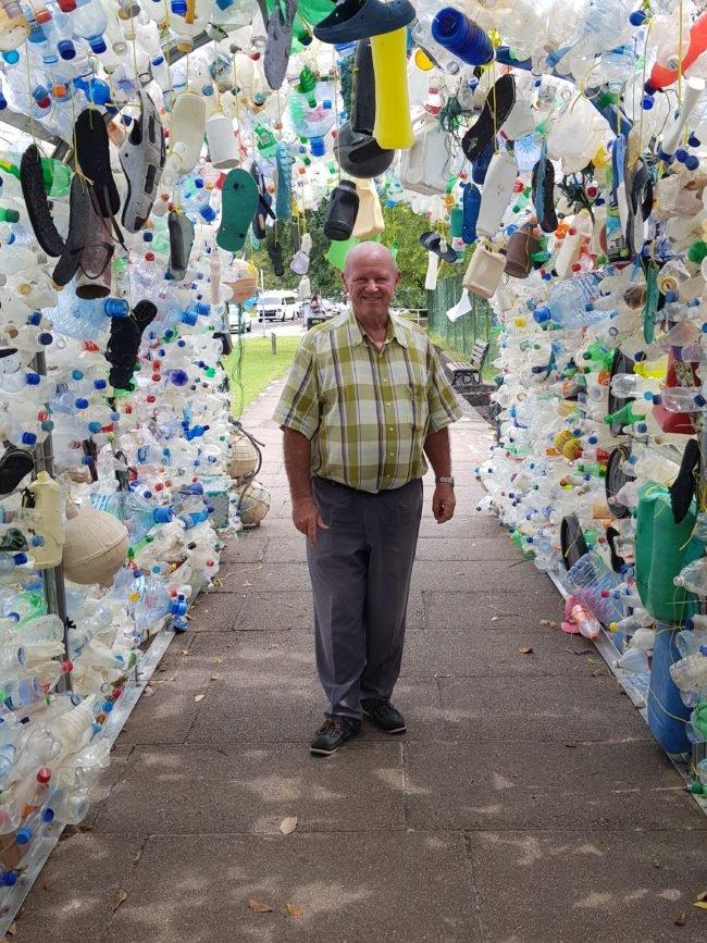 Plastic Ocean Arch aux Seychelles présente la dure réalité de la pollution des océans