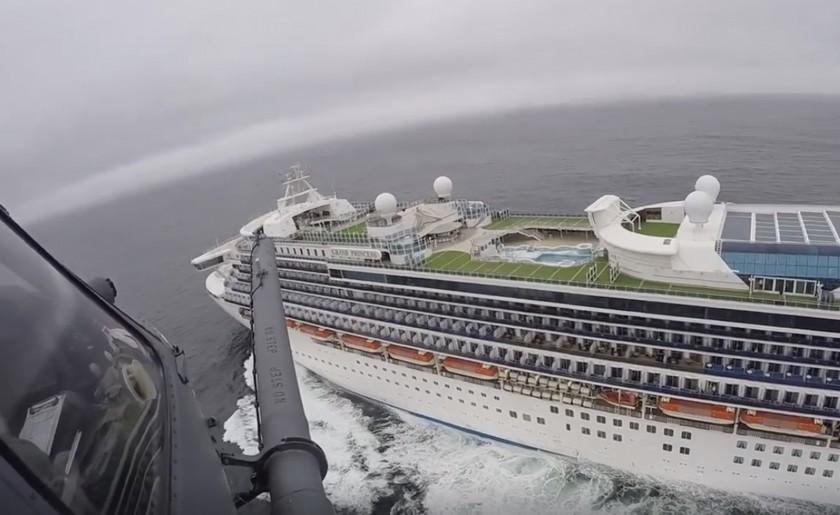 Qu'est-ce que le capitaine John Smith de Princess Cruises a annoncé aux passagers? (COVID-19)
