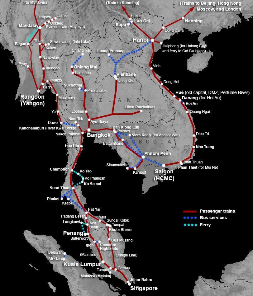 Des milliards investis dans le système ferroviaire thaïlandais reliant l'Asie