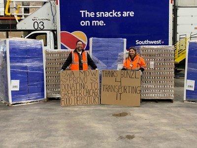 Southwest Airlines met ses cœurs en action