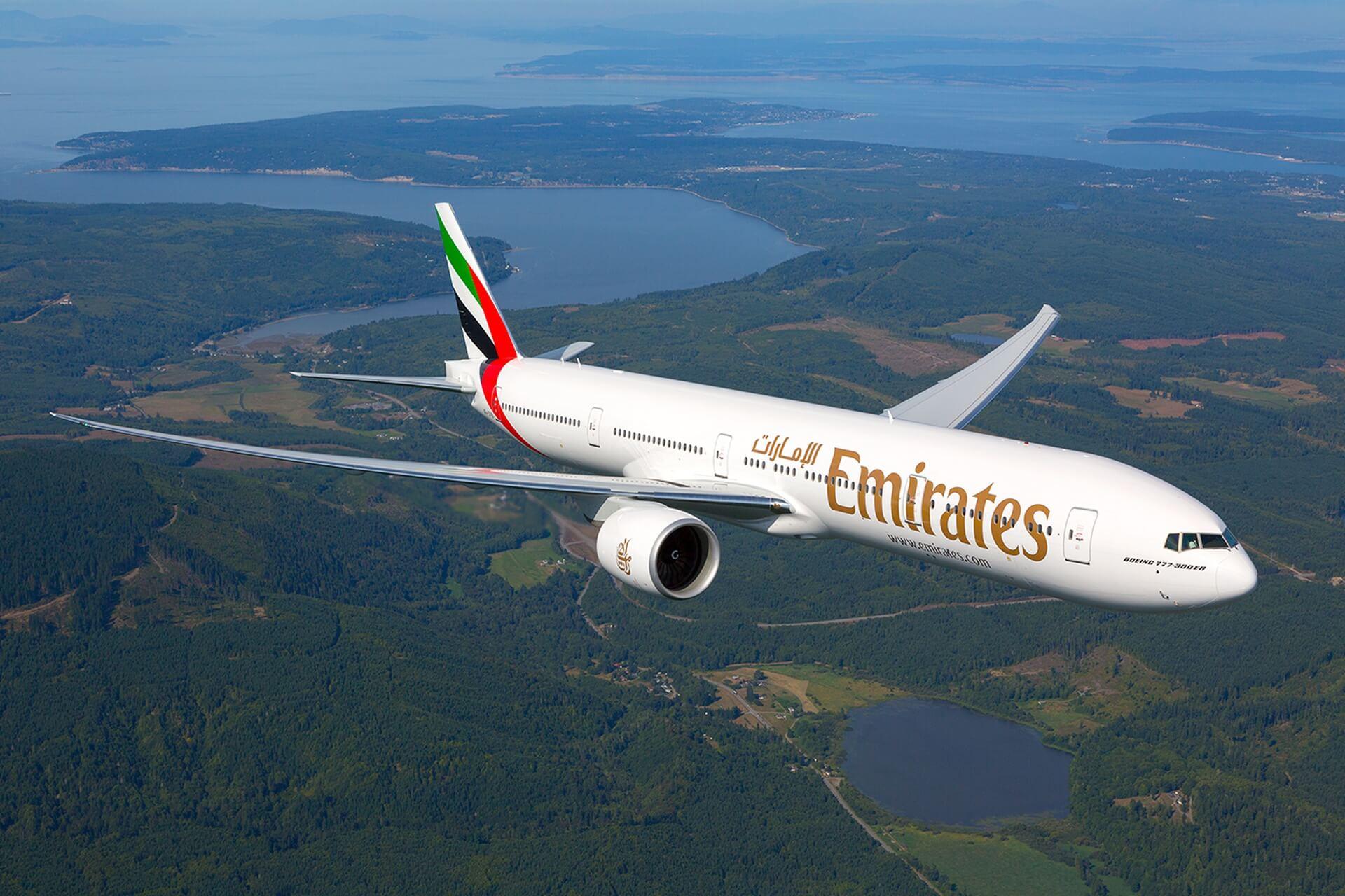Emirates Airlines propose désormais des vols vers 9 villes sur 4 continents à destination de Dubaï