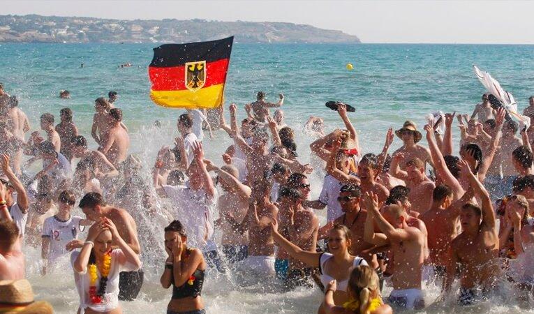 Pas de touristes allemands au moins jusqu'au 15 juin