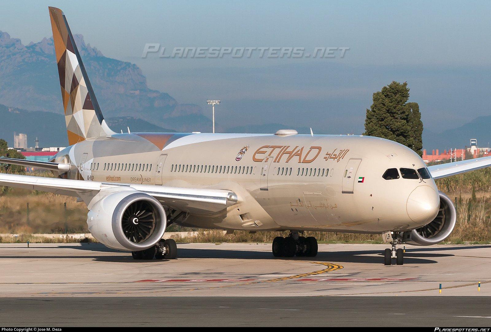 Vols avec Etihad Airways au départ d'Abu Dhabi
