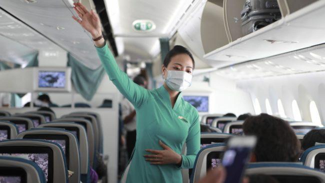 COVID-19 Directives à bord des aéronefs