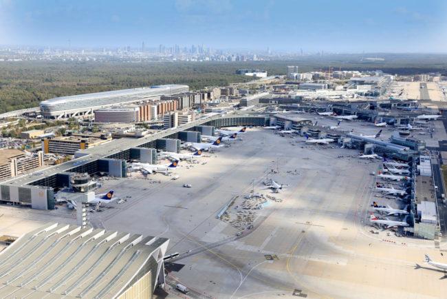 Le trafic passagers diminue sensiblement à Francfort et dans les aéroports du Groupe dans le monde