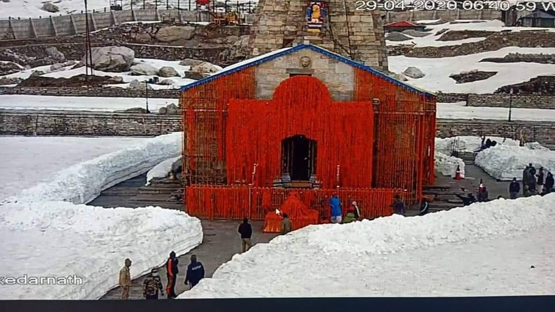 Ouverture des portails de Kedarnath Mandir pour Char Dham Yatra 2020