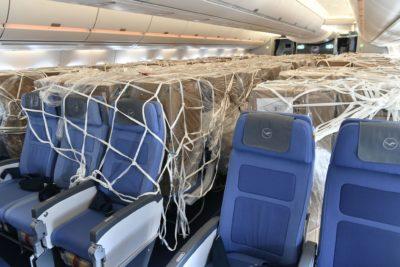 Les Airbus A350 de Lufthansa transportent des équipements de protection de la Chine à Munich