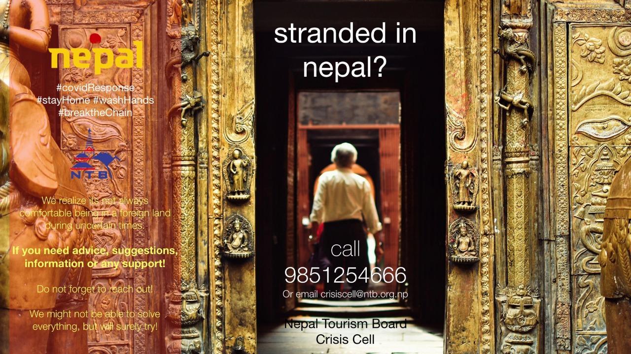 L'Office du tourisme du Népal a secouru 1721 touristes