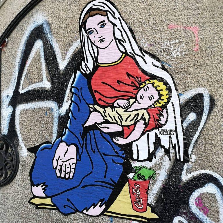 Un art de la rue qui met en lumière la tragédie de nos jours