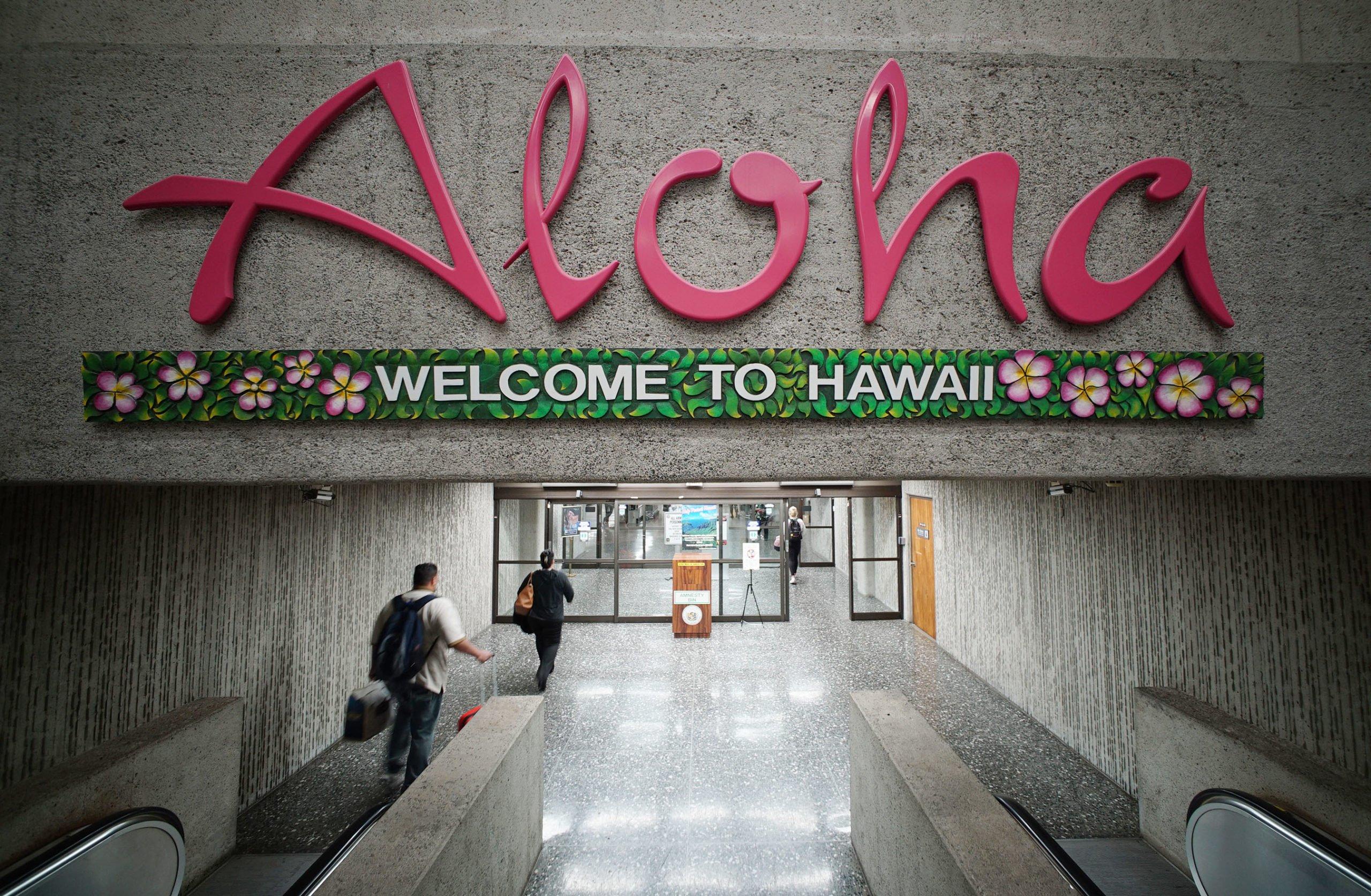 Les arrivées de visiteurs aux îles hawaïennes ont diminué de 99,5% en avril