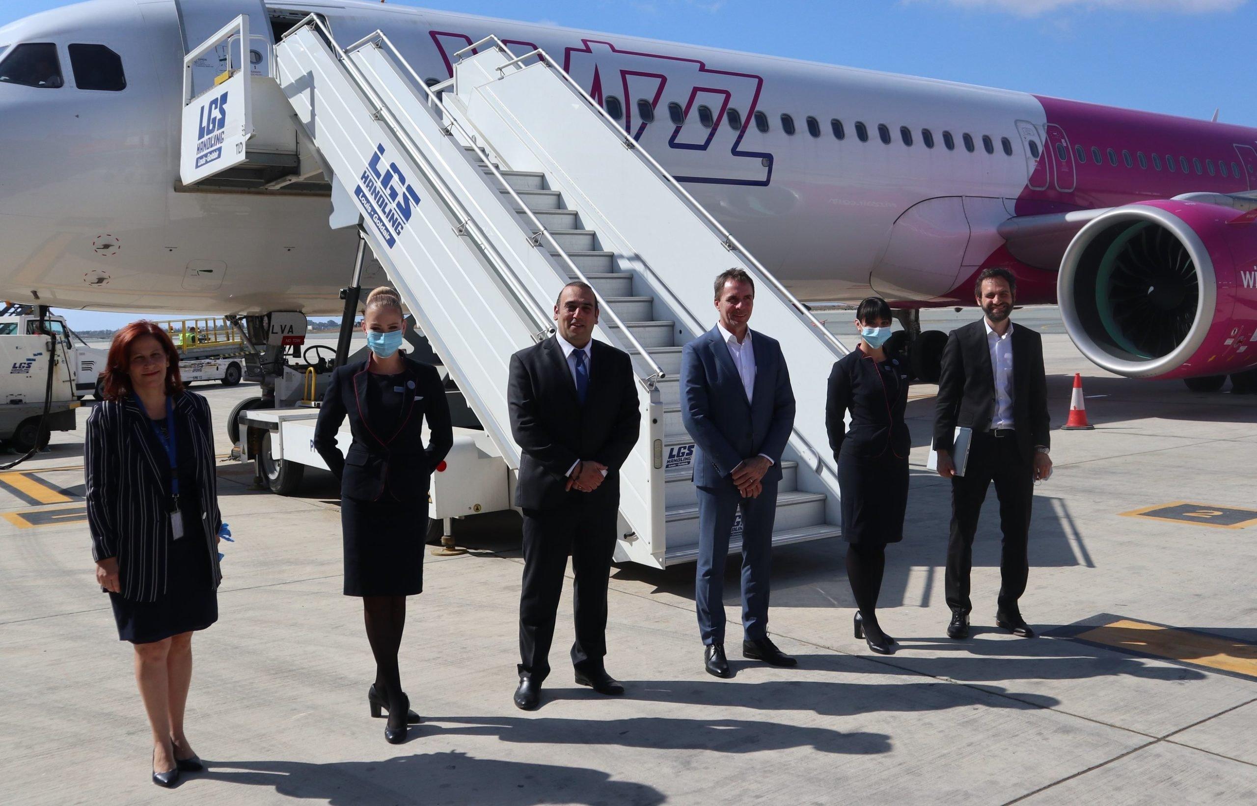 Wizz Air annonce une nouvelle base à Larnaca