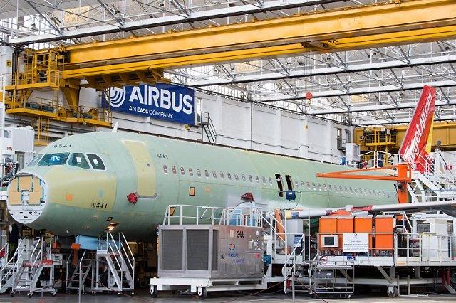 Airbus enregistre neuf commandes d'avions de la famille A320 en avril