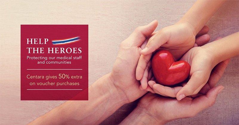 Centara Hotels & Resorts lance la campagne «Aidez les héros»