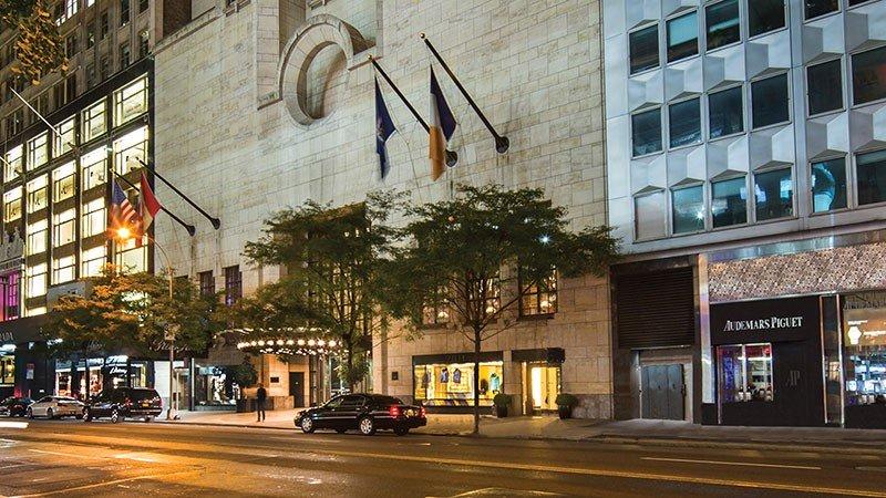 Le Four Seasons Hotel NY abrite désormais des professionnels de la santé
