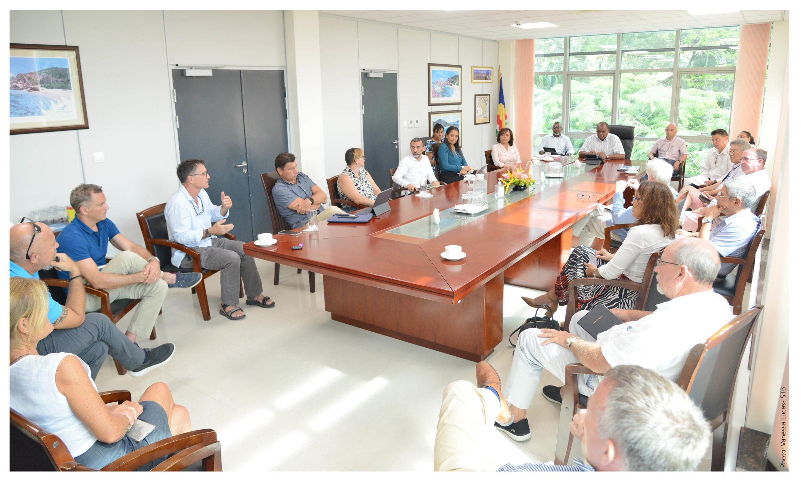 Les acteurs du tourisme aux Seychelles se réunissent pour discuter des stratégies de relance de l'industrie