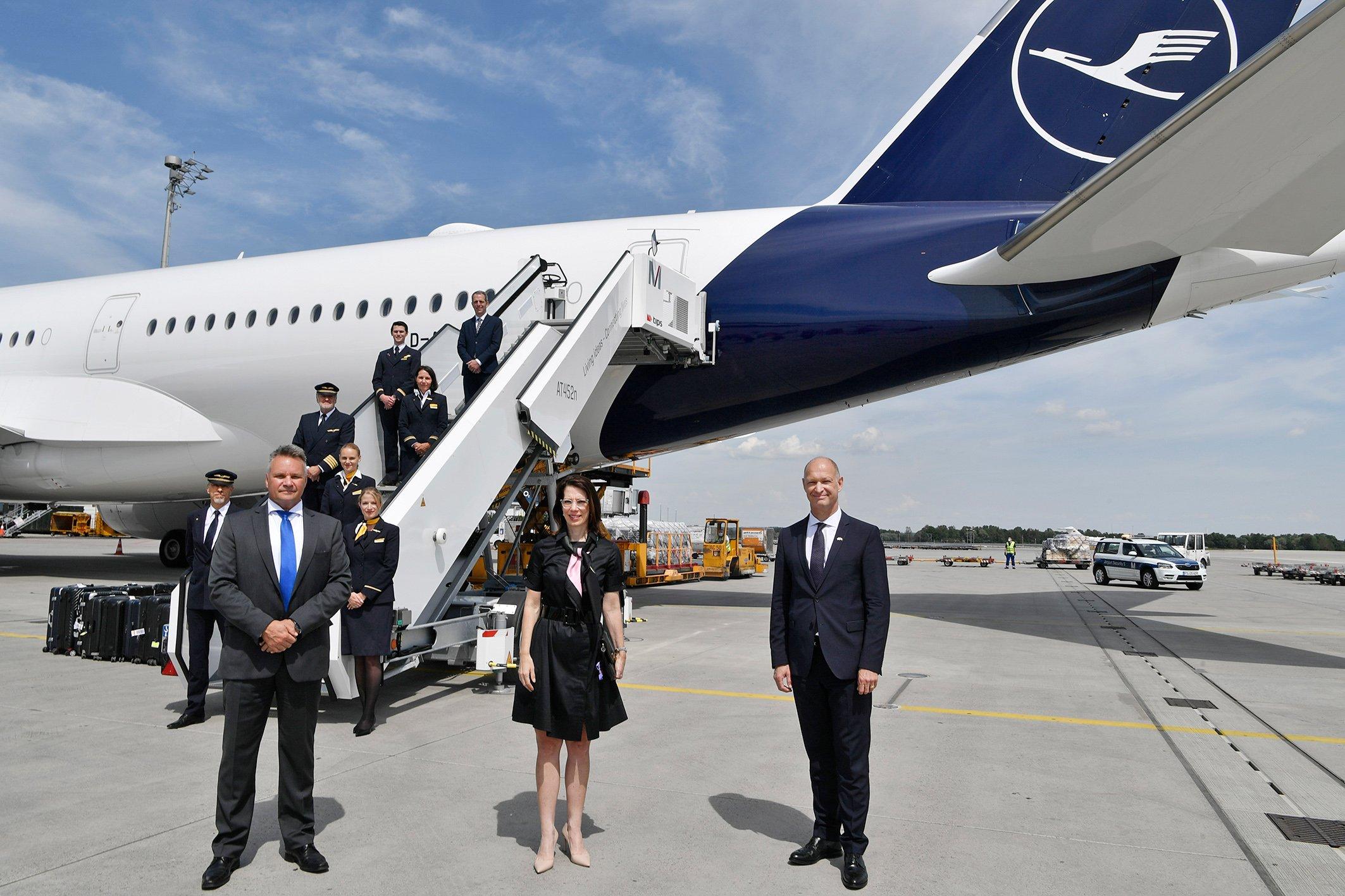 Lufthansa vole de nouveau de Munich à Los Angeles et Chicago