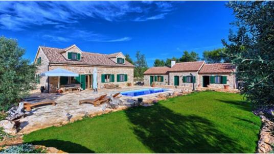Eco-Villa Harpocrates sur l'île de Hvar