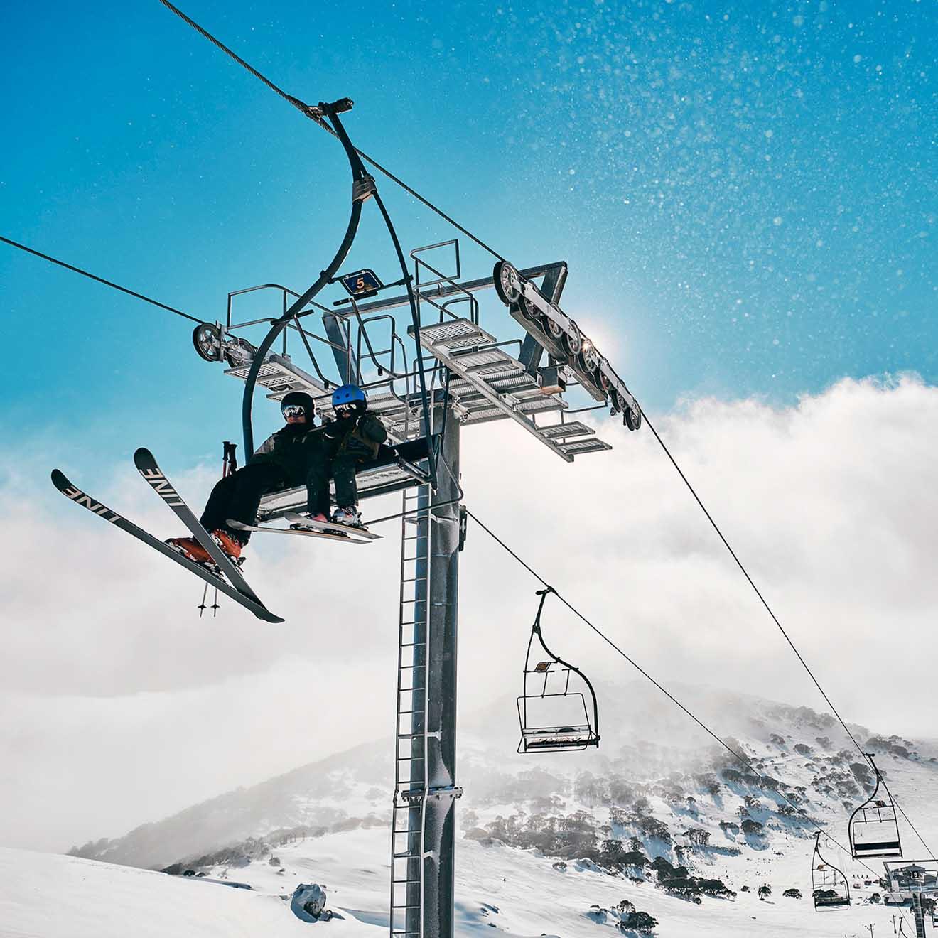 Charlotte Pass Ski Resort Kosciuszko National Park montagnes