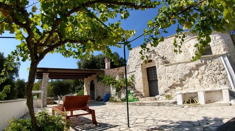 Une ferme dans le Val d'Istria