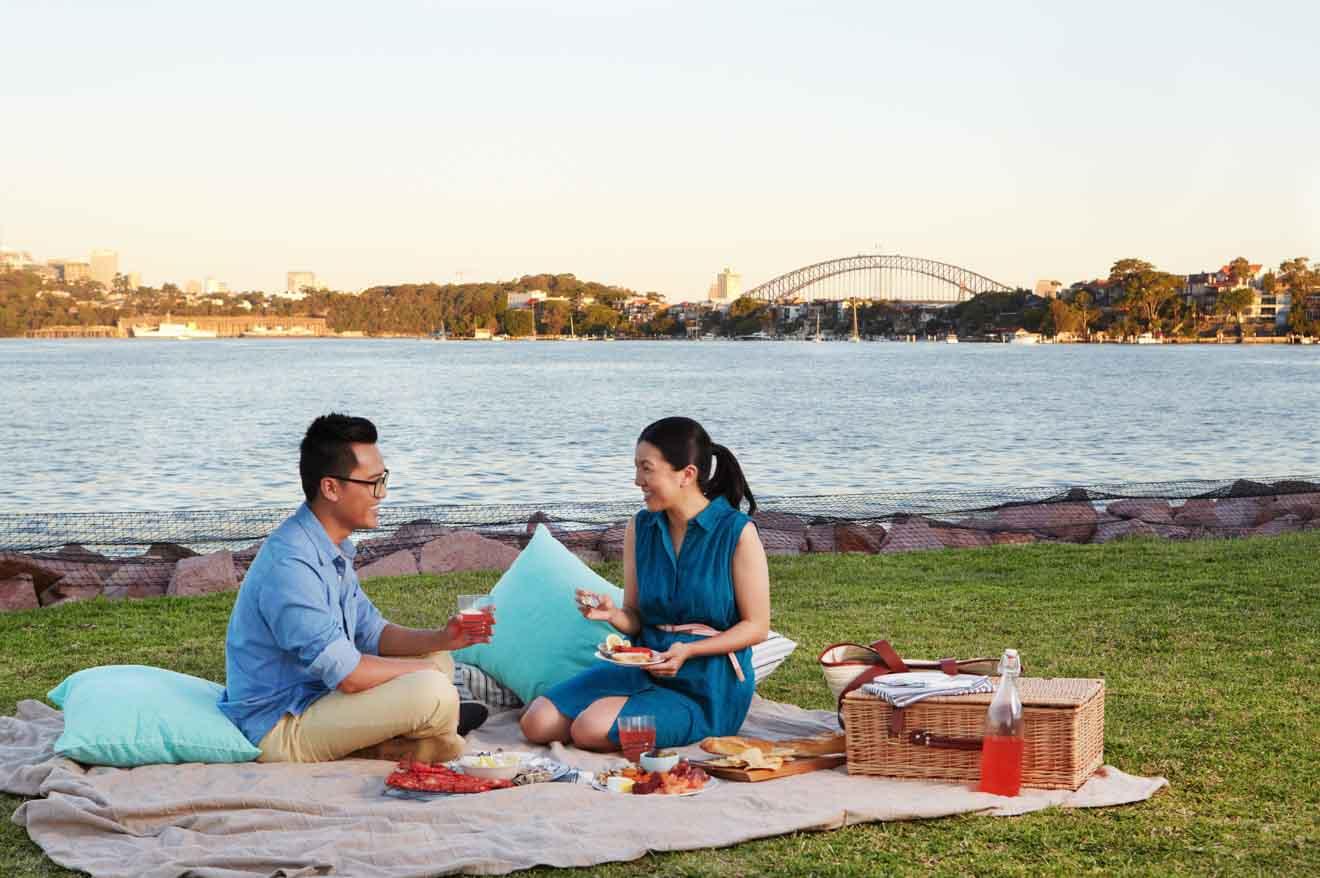 Cockatoo Island, pique-nique de Sydney