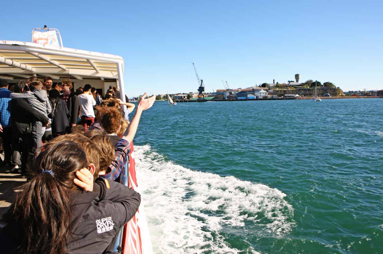Excursion en ferry vers l'île de Cockatoo