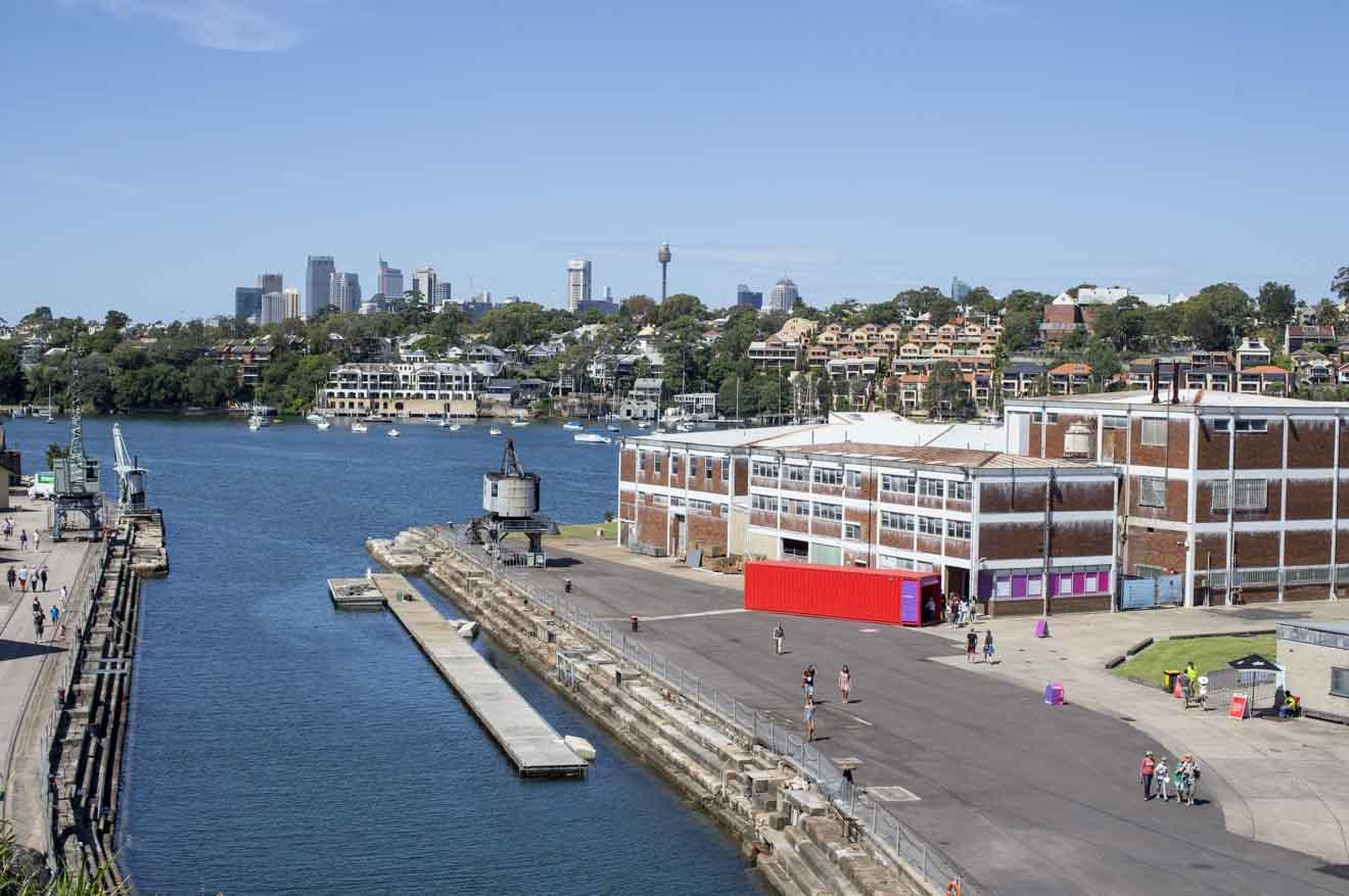 Cockatoo Island Sydney Harbour