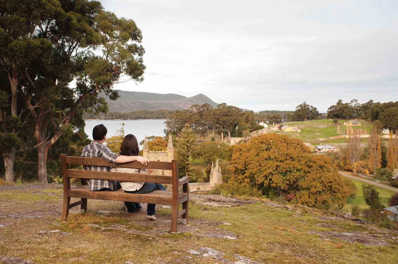 Visite romantique du site historique de Port Arthur