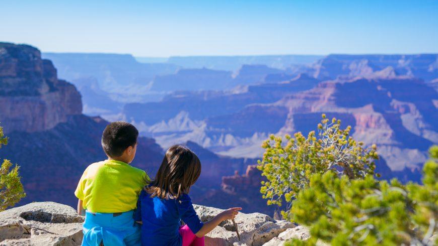 éco-voyages avec les enfants