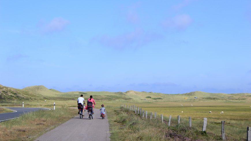éco-voyages à vélo avec des enfants