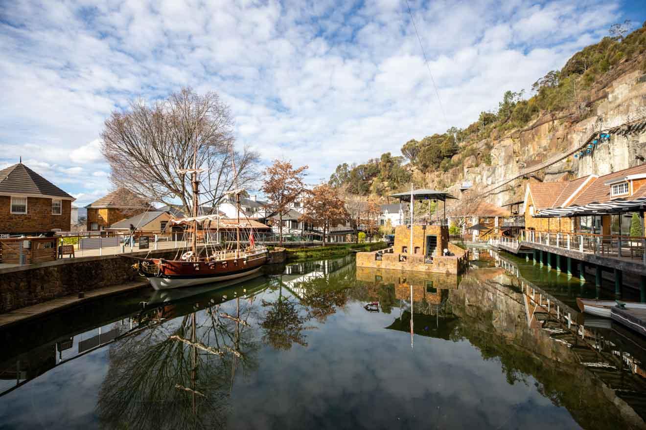 Paysages de Launceston en Tasmanie