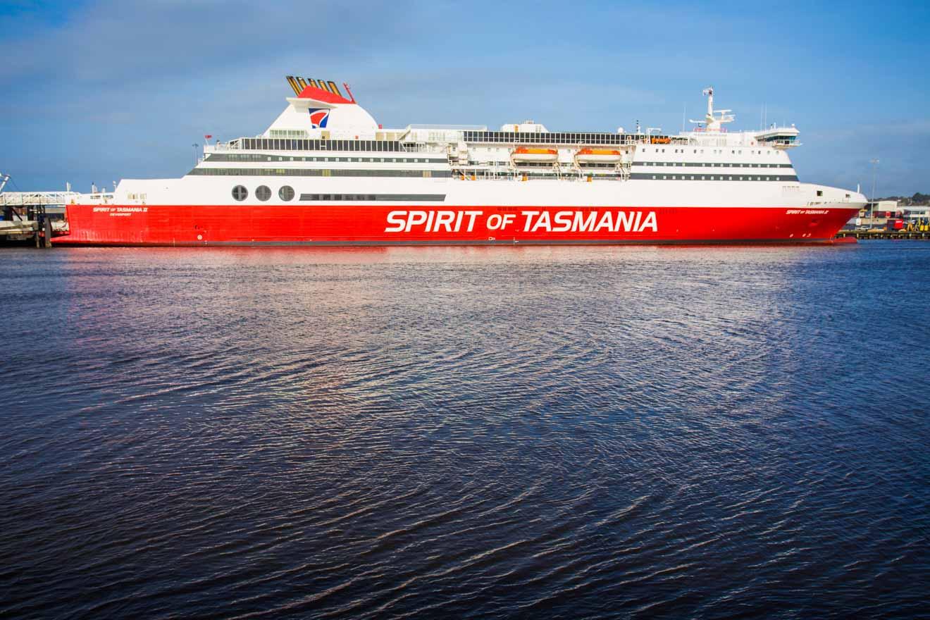 Excursion en ferry en Tasmanie à Devonport Mersey River