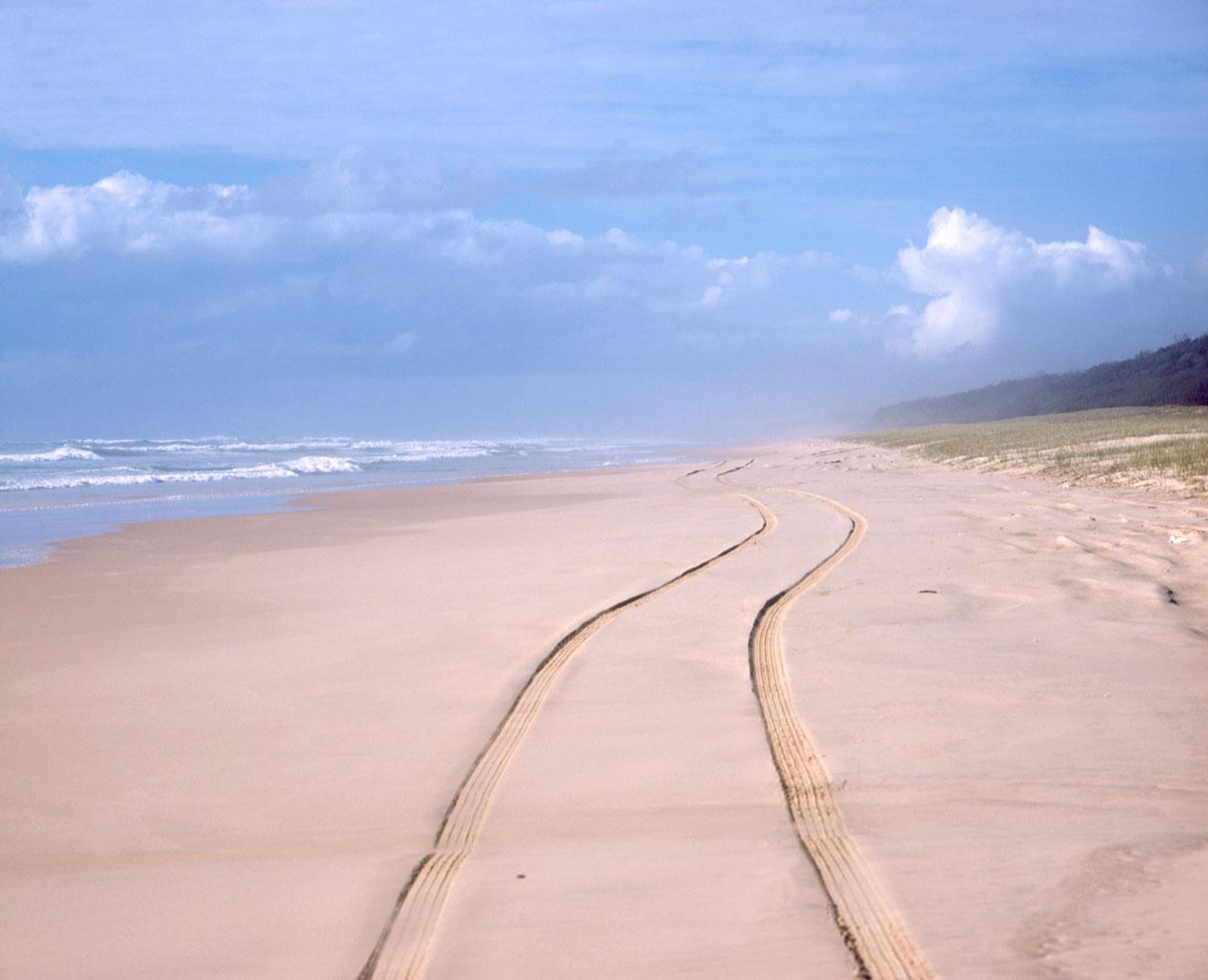 Choses à faire sur la plage de 75 miles à l'île de Fraser