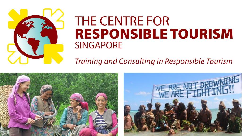Cours en ligne par le Center for Responsible Tourism Singapore: «Réinventer l'apprentissage du tourisme»