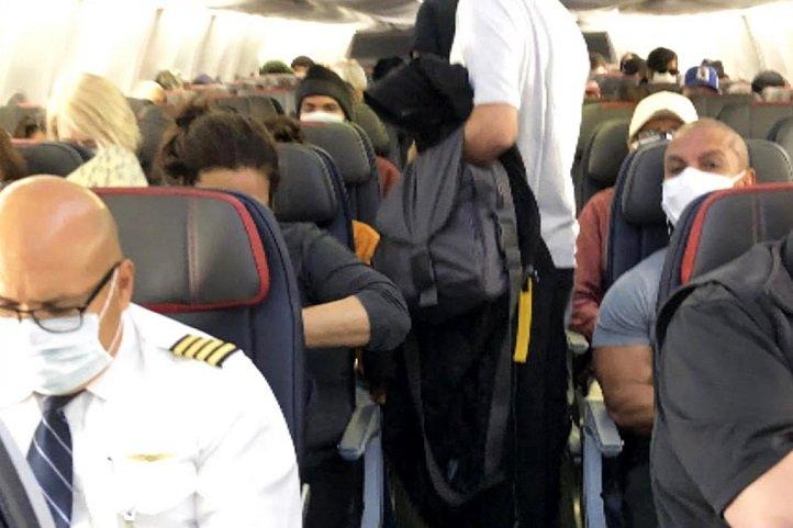 American Airlines pleine capacité: pas de distanciation sociale