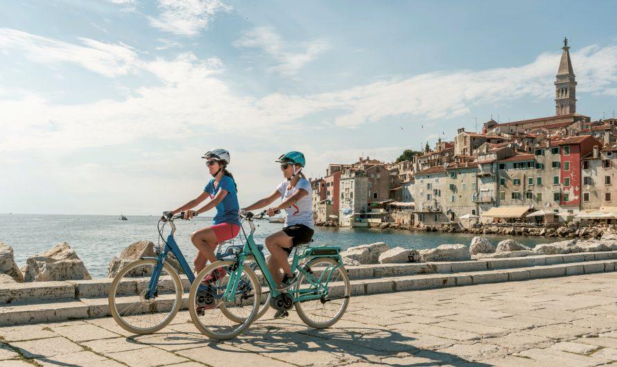 Les 6 plus beaux itinéraires de vélo électrique d'Istrie