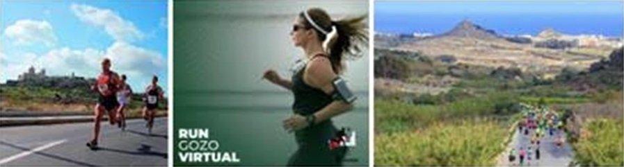 Semi-marathon virtuel de Gozo dans l'archipel méditerranéen de Malte?