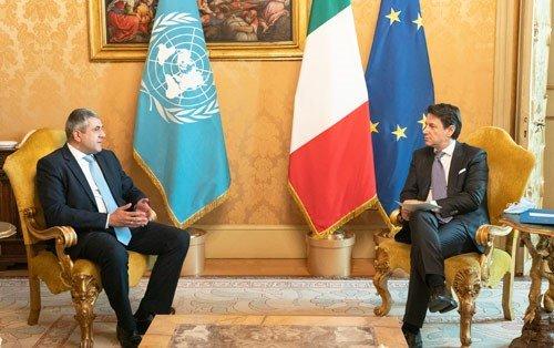La visite officielle de l'OMT en Italie marque le redémarrage du tourisme européen