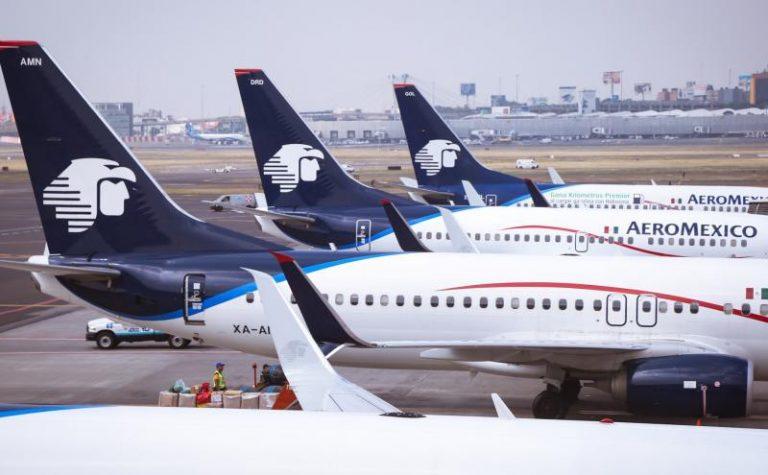 Aeromexico dépose un dossier de mise en faillite aux États-Unis