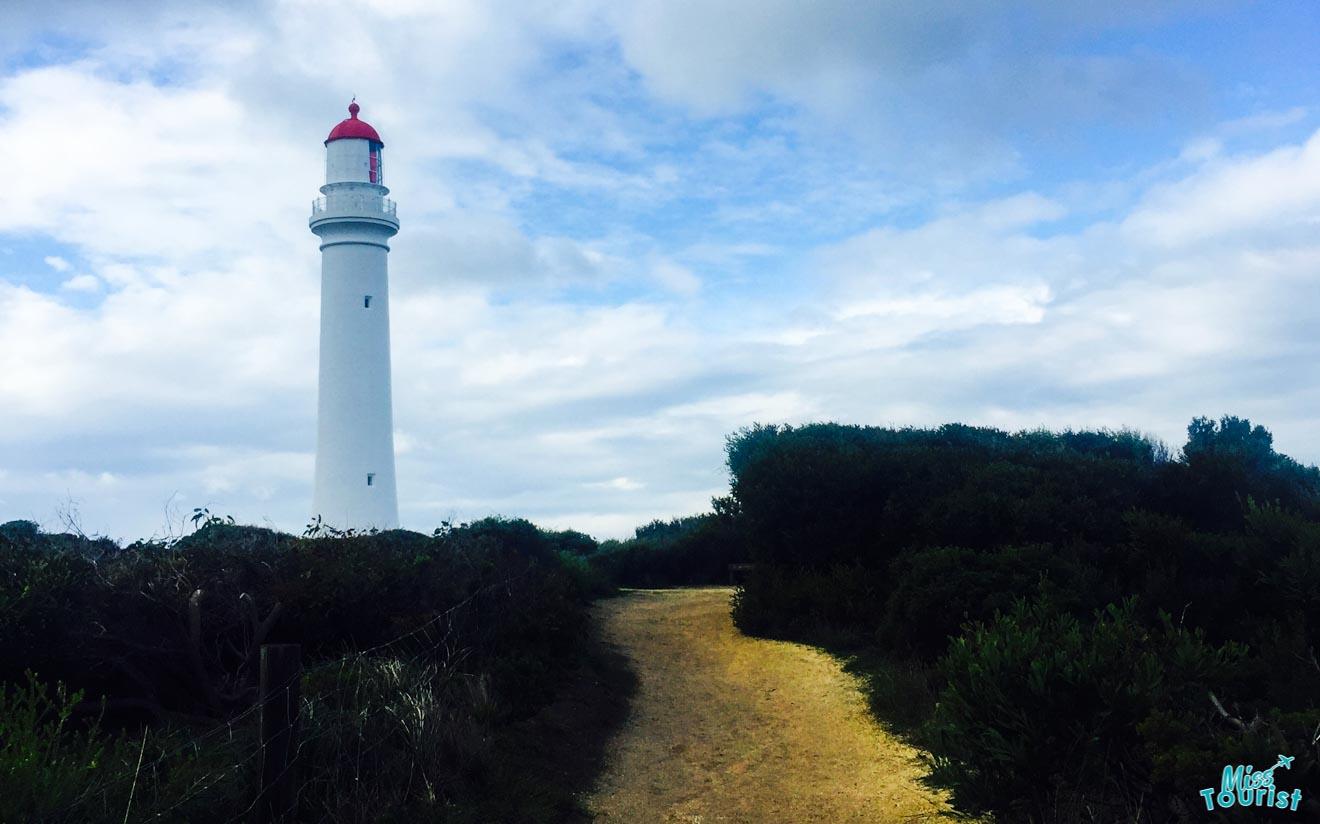 sites incontournables de la région de Great Ocean Road - Phare de Split Point Great Ocean Road Route
