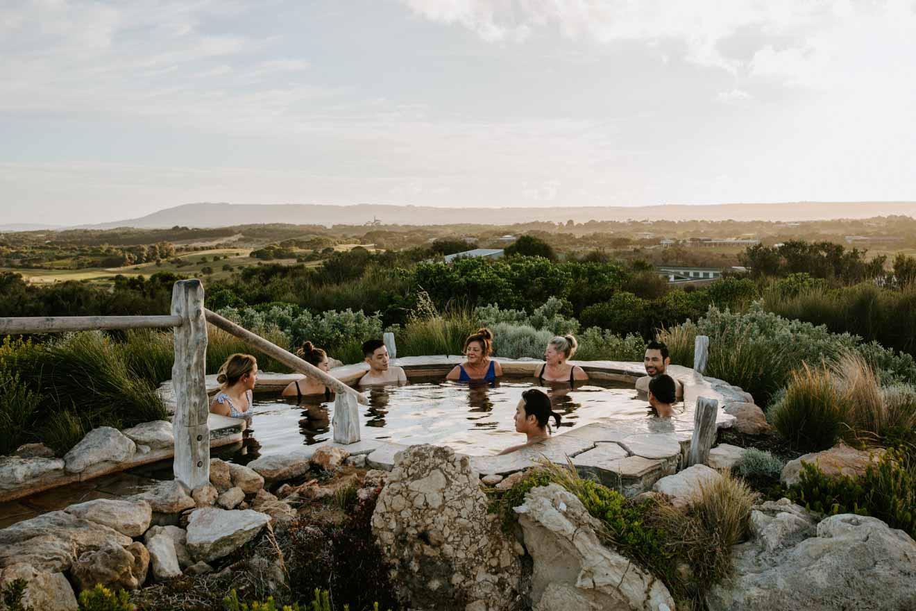 Hot Springs Choses à faire à Mornington Peninsula à Melbourne, Victoria, Australie
