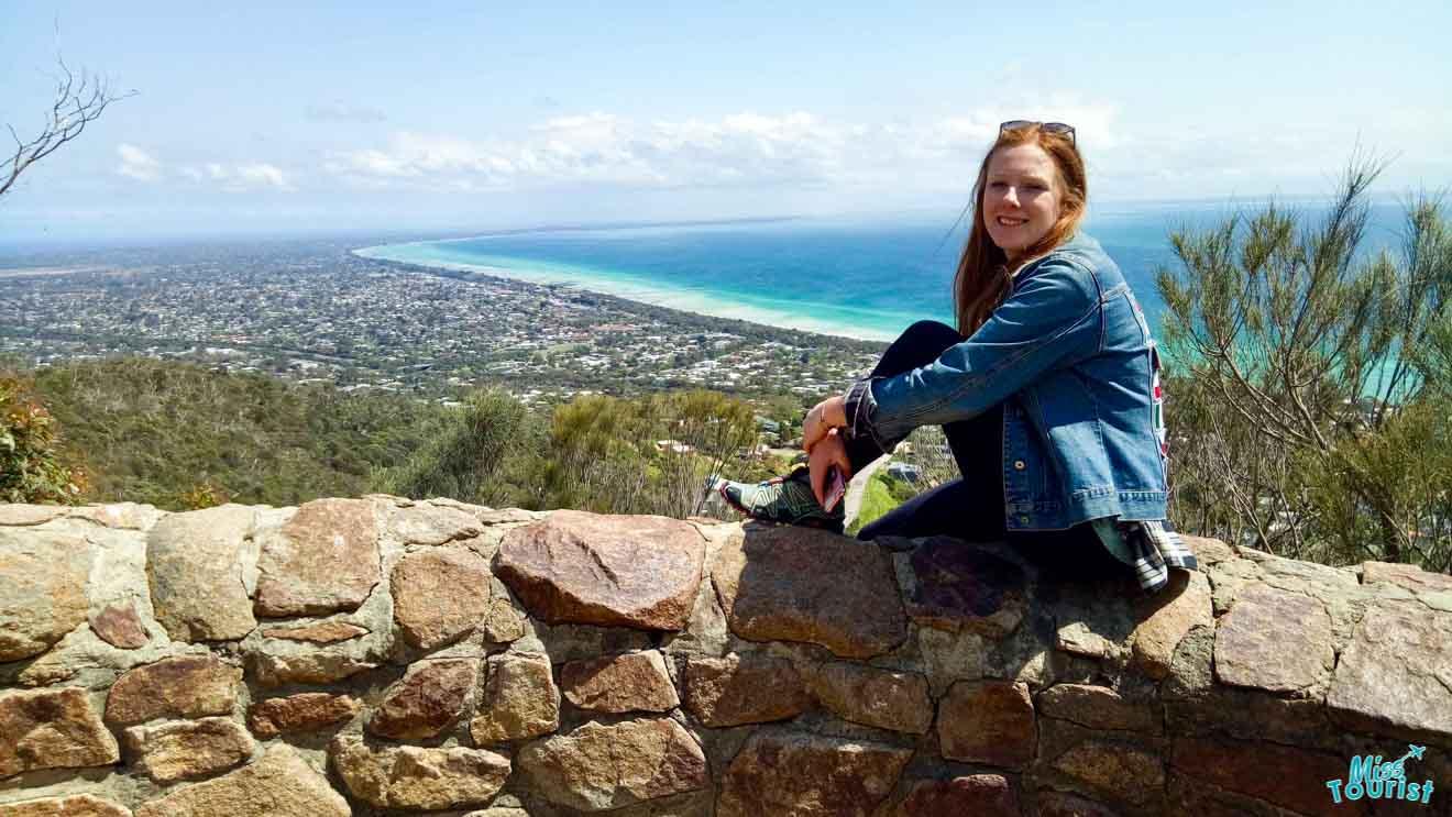 Kate at Lookout free Choses à faire à Mornington Peninsula