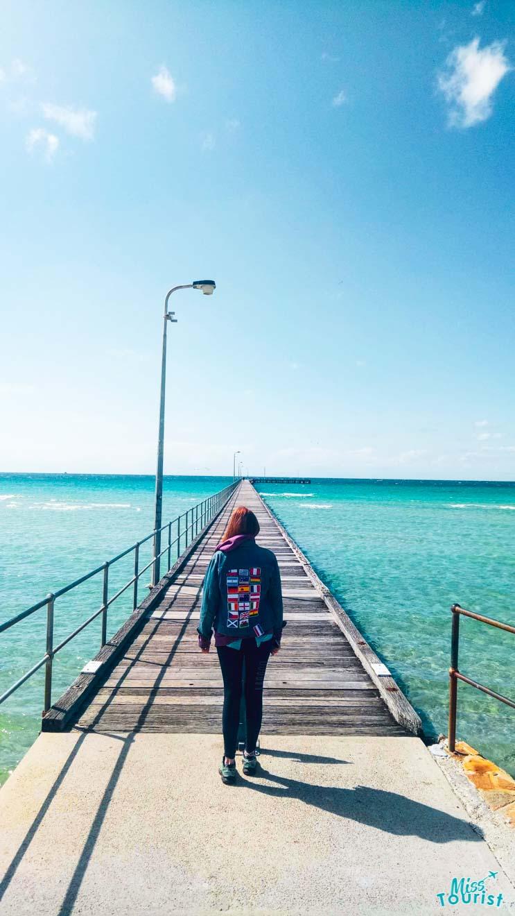 Walking on Pier top Que faire à Mornington Peninsula Australie